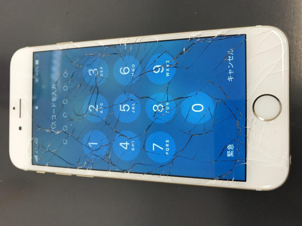 お客様の修理前iPhone6s