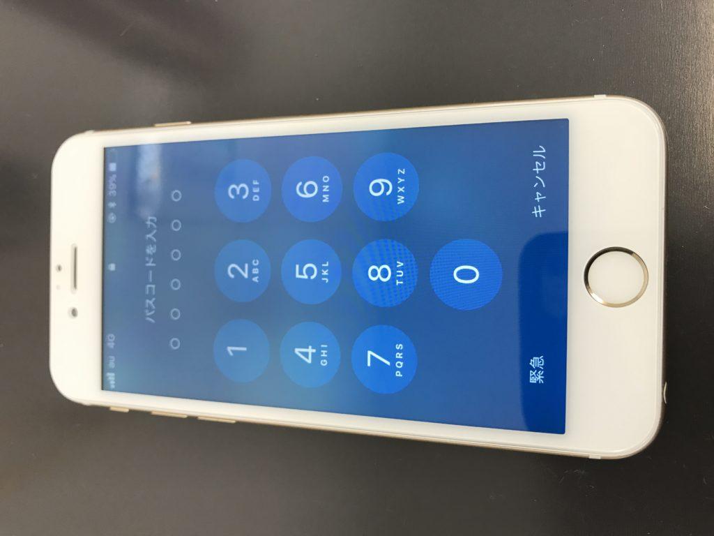 お客様の修理後iPhone6s